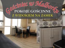 Gościniec w Malborku, hotel near Malbork Castle, Malbork