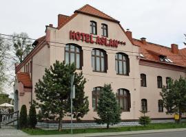 Hotel Aslan – hotel w Tarnowskich Górach