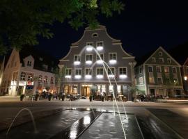 Hotel am Schrannenplatz, hotel in zona Aeroporto di Memmingen - FMM,