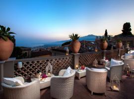 Hotel Villa Taormina, hotell i Taormina