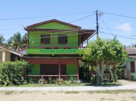 Pousada Casa Verde Boipeba, hotel na Ilha de Boipeba