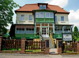 Hotel Am Kurpark, hotel in Bad Suderode