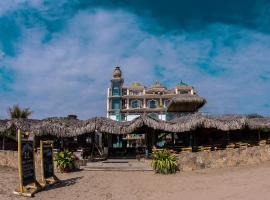 Dharma Beach, hotel em Montañita