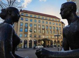 Steigenberger Grandhotel Handelshof Leipzig, hotel in Leipzig
