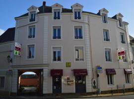 Logis Le Bretagne、Sillé-le-Guillaumeのホテル