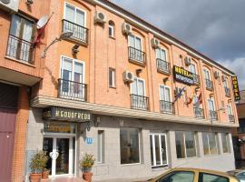 Hotel Godofredo, отель в городе Толедо