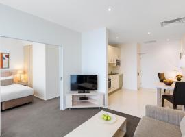 Privāta brīvdienu naktsmītne Oaks Melbourne on Lonsdale Suites Melburnā