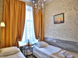 Ария на Римского-Корсакова, отель в Санкт-Петербурге, рядом находится Никольский морской собор