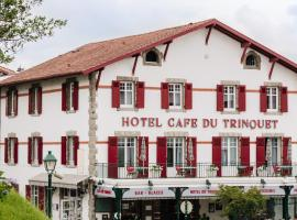 Hotel-Café du Trinquet, hotel Cambo-les-Bains-ben