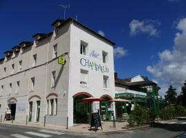 Logis Le Champalud, hôtel à Champtoceaux