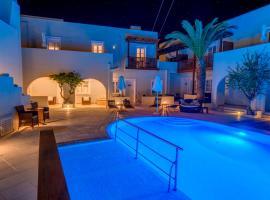 Nissaki Beach Hotel, отель в Наксосе