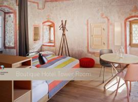 Boutique Hotel Schlossberg, отель в Туне