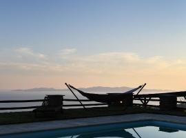 Tinos Sky View Villa, hotel near Moni Koimiseos Theotokou Kechrovouniou, Arnados