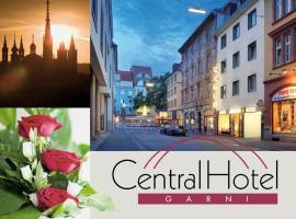 Central Hotel Garni, отель в Вюрцбурге