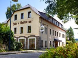 Hotel & Restaurant Kleinolbersdorf, ξενοδοχείο στο Κέμνιτς