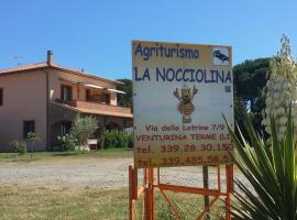 Agriturismo La Nocciolina, smeštaj na selu u gradu Venturina Terme
