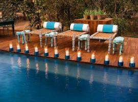 Baghvan Pench National Park - A Taj Safari Lodge, accessible hotel in Behrai