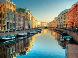 Galla Apartments, отель в Санкт-Петербурге, рядом находится Эрмитаж