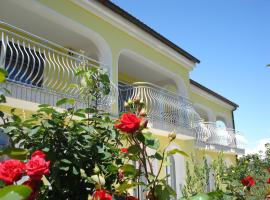 Ana Rooms, family hotel in Krk