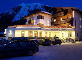 Berghotel Rasis, отель в Гальтюре
