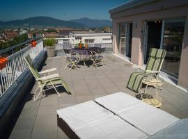 En attique - Residence le Ronsard, hotel in Sélestat