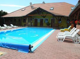 NAPSUGAR VENDÉGHÁZ, hotel a Bogácsi Termálfürdő környékén Bogácson