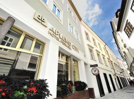 APLEND CITY Hotel Perugia, отель в Братиславе