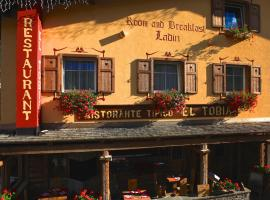 Garnì Ladin, hotel in Vigo di Fassa