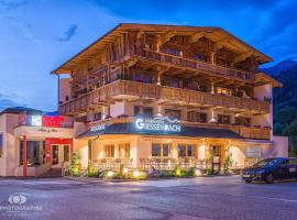 Hotel Giessenbach, hotel in Fügen