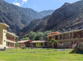 Fundo Hotel Ayarpongo, hotel in Churín