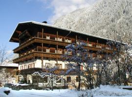 Hotel-Pension Strolz, Hotel in Mayrhofen
