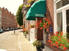 Hotel Fevery, hotel in Bruges