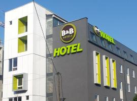B&B Hôtel Paris Est Bobigny Université, hotel near Porte de la Villette Metro Station, Bobigny