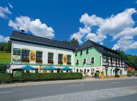 Hotel Gasthof zum Walfisch, Hotel in Klingenthal
