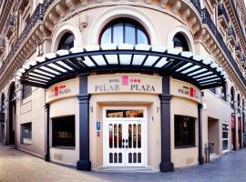 Hotel Pilar Plaza, hotel in Zaragoza