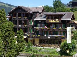 Hotel Edelweiss, hotel near Mürrenbahn, Wengen