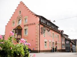 Landgasthof Hotel Rebstock, hotel near Rhine Falls, Stühlingen
