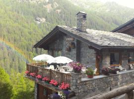 Hotel Ristorante Perret, hotel Valgrisenchében