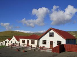 Sólheimahjáleiga Guesthouse, farm stay in Solheimahjaleiga