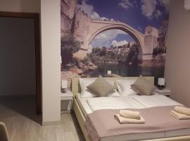 Sun Apartments, hotel poblíž Mezinárodní letiště Mostar - OMO,