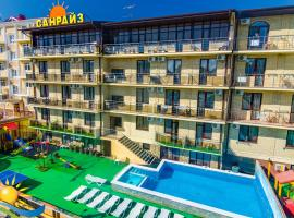 Hotel Sunrise, hotel with pools in Vityazevo