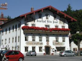 Hotel Alte Post, Hotel in Siegsdorf