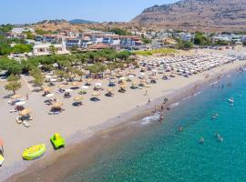 Sun Beach Lindos, Hotel in Lardos