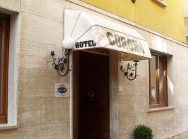 Albergo Corona, hotel near Parco delle Fiabe, Salsomaggiore Terme