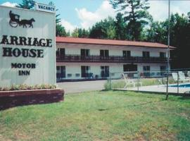 Carriage House Motor Inn, hotel in Lake Placid