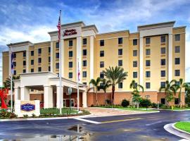 Hampton Inn and Suites Coconut Creek, hotel near Johns Siding Railroad Station, West Dixie Bend