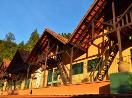 Pousada Villa Três, hotel em Serra Negra