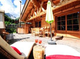 Luxury Chalets Wiesenruh, family hotel in Bichlbach