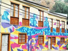 Hostal Los Poetas, hotel in Valparaíso