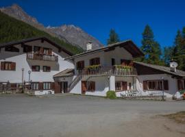 Hotel Camping Grivola, hotel a Valsavarenche